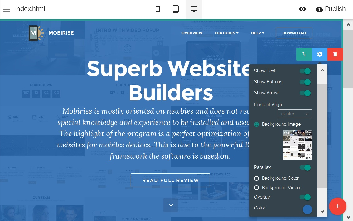 Drag and Drop Web Editor – Web Editor Job Description