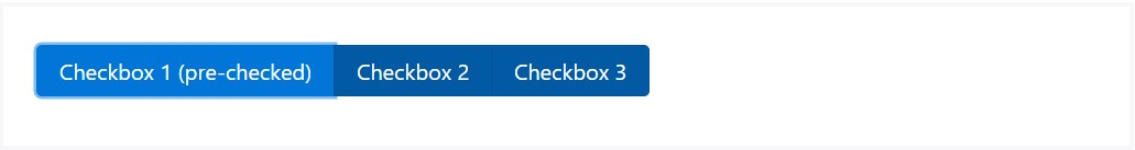 Ways to  put into action the Bootstrap checkbox