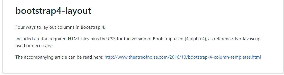 Format  samples  located in Bootstrap 4