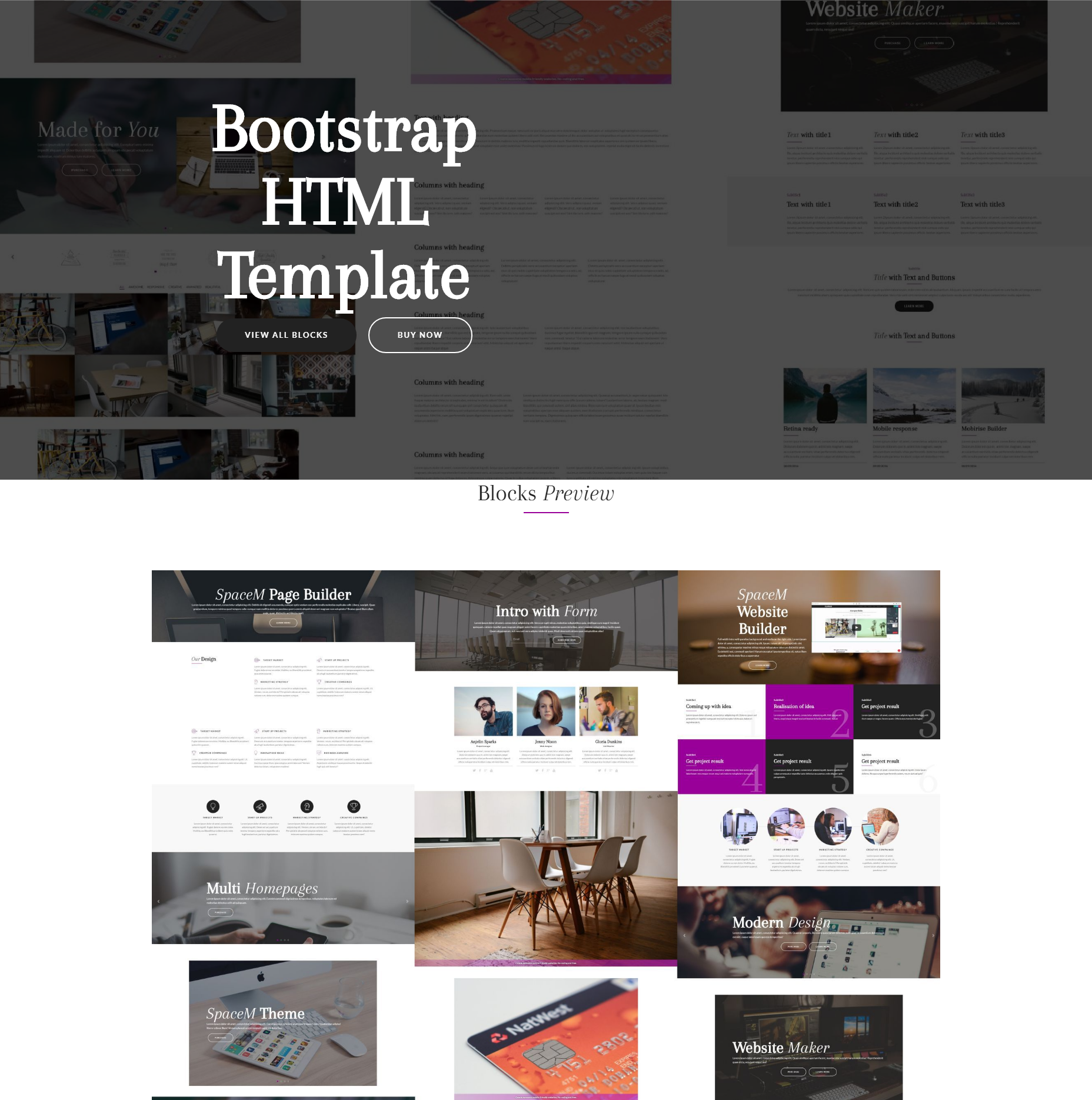 Best 49 Brand New HTML5 Bootstrap Templates of 2018